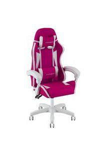 Cadeira Gamer X Fusion C.123 Rosa Escuro