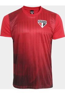 Camiseta São Paulo Bleed Color Masculina - Masculino