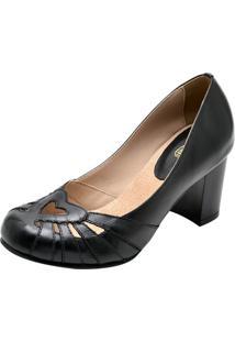 Sapato Miuzzi Salto Alto 3184 Preto