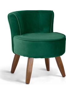 Poltrona Decorativa Olivia - Domi Móveis - Verde