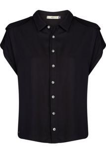 Camisa Khelf Faixa Fixa Preto