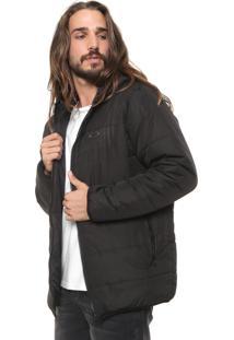Jaqueta Puffer Oakley Mod Down Jacket Preta