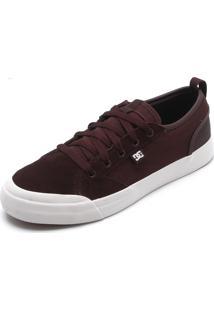 Tênis Dc Shoes Evan Smith Vinho