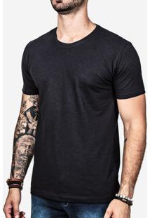 Camiseta Hermoso Compadre Meia Malha Masculina - Masculino-Preto