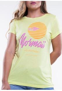 Camiseta Mormaii Básica Good Side Feminina - Feminino