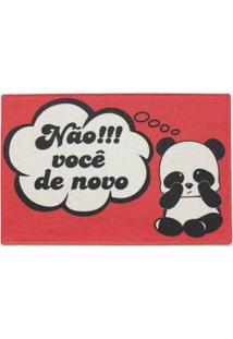 Capacho Urso Ursinho Panda