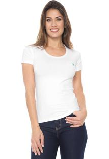 Camiseta Polo Wear Básica Branca