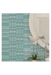 Papel De Parede Autocolante Rolo 0,58 X 5M - Azulejo Abstrato 284802215