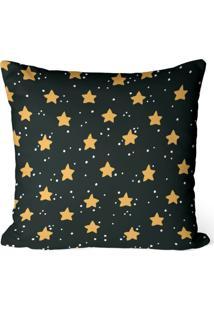 Capa De Almofada Love Decor Avulsa Decorativa Estrelas Cute