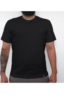 Camiseta Clássica Azul Escuro - Camiseta Clássica Masculina