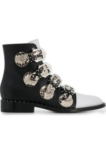 Givenchy Ankle Boot Com Tiras - Preto