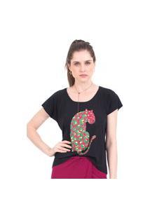 Camiseta 41Onze Back Preto