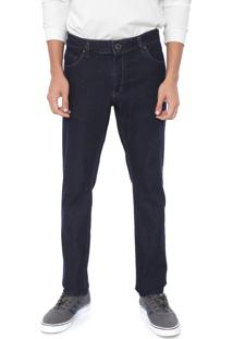 Calça Jeans Volcom Skinny Vorta Azul-Marinho