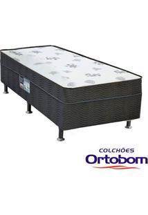 Cama Box Conjugada Solteiro Union Dream Spring De Molas Bonnel - Ortobom