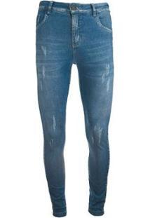 Calça Knt Jeans - Masculino-Azul