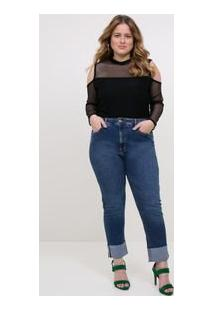 Body Em Tela Curve & Plus Size
