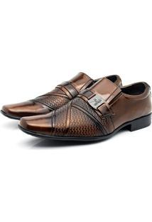 Sapato Social Venetto Classic Cedro