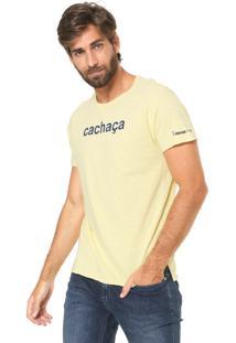 Camiseta Sergio K Drinks Amarela