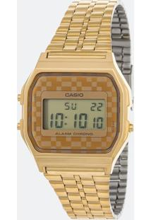 Relógio Feminino Casio Vintage A159Wgea 9Adf Digital