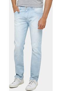 Calça Jeans Forum Paul Skinny Indigo Bord Masculina - Masculino-Jeans