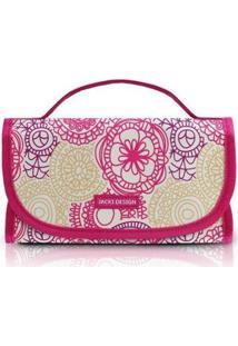 Necessaire Jacki Design My Lolla Rocambole Feminina - Feminino-Pink