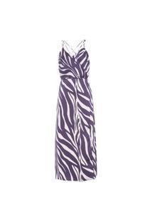 Vestido Zebra Color - Animal Print
