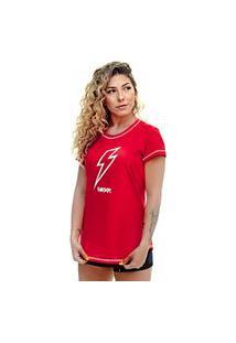 Camiseta Shatark Round Energy - Vermelho
