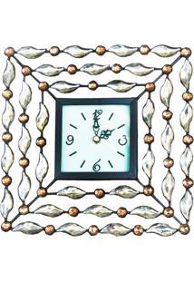 Relógio Kasa Ideia De Mesa Diamante
