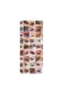 Adesivo Decorativo De Porta - Salão De Beleza - Maquiagem - 1751Cnpt
