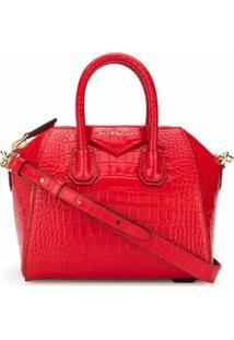 Givenchy Bolsa Tote Antigona Mini - Vermelho