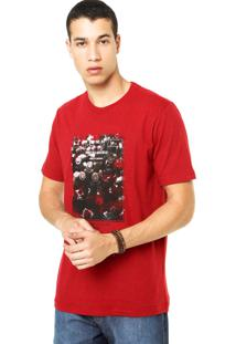 Camiseta West Coast Industrial Vermelha