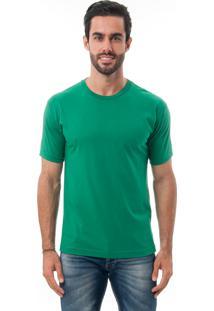 Camiseta Manga Curta Crossfire Básica Verde Esmeralda