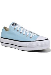 Tênis Converse All Star Chuck Taylor Lift Flatform Converse Azul - Kanui