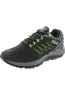 Tênis Masculino Men Footwear Fila - 11J599X Preto/Verde