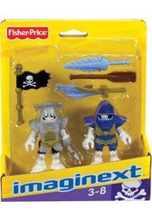 Imaginext Mattel Piratas - Piratas Tubarões X7644/X7646