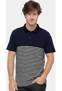 Camisa Polo Forum Listras Masculina - Masculino