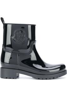 Moncler Ginette Ankle-Length Rain Boots - Preto