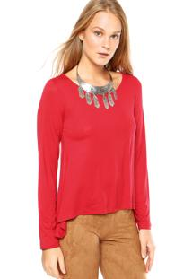 Blusa Dafiti Unique Lisa Vermelha