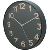 05415c32082 Relógio Parede Plástico Big Numbers Cobre 30X5X30Cm
