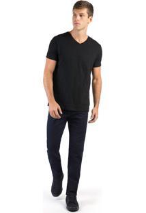 Calça Jeans Comfort Vintage Flex Stone