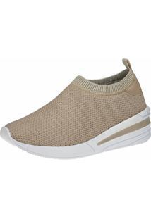 Tênis Sneaker Gigil Calce Fácil Anabela - Kanui