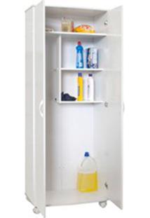 Armário Para Lavanderia As810 2 Portas Branco - Multivisão