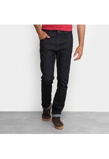 Calça Jeans Slim Ellus Escura Masculina - Masculino