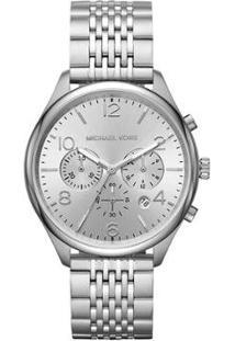 Relógio Michael Kors Merrick Feminino - Feminino-Prata