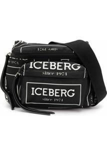 Iceberg Pochete Com Logo - Preto