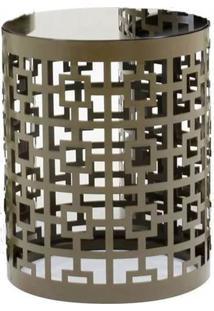 Mesa Lateral Gala Pequena Bronze 40 Cm (Alt) - 35807 - Sun House