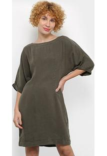 Vestidos Colcci Feminino-440108850 - Feminino-Musgo