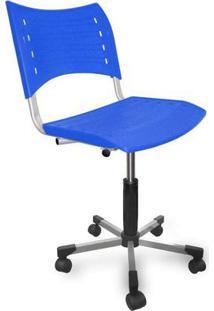 Cadeira De Escritório Secretária Stillus Azul