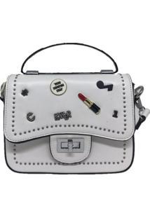 Mini Bolsa Sys Fashion Casual Importada 8301 Branco