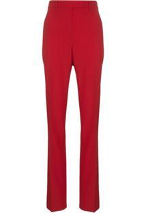 Calvin Klein 205W39Nyc Calça De Alfaiataria Slim - Vermelho